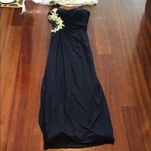 Navy Formal Dress